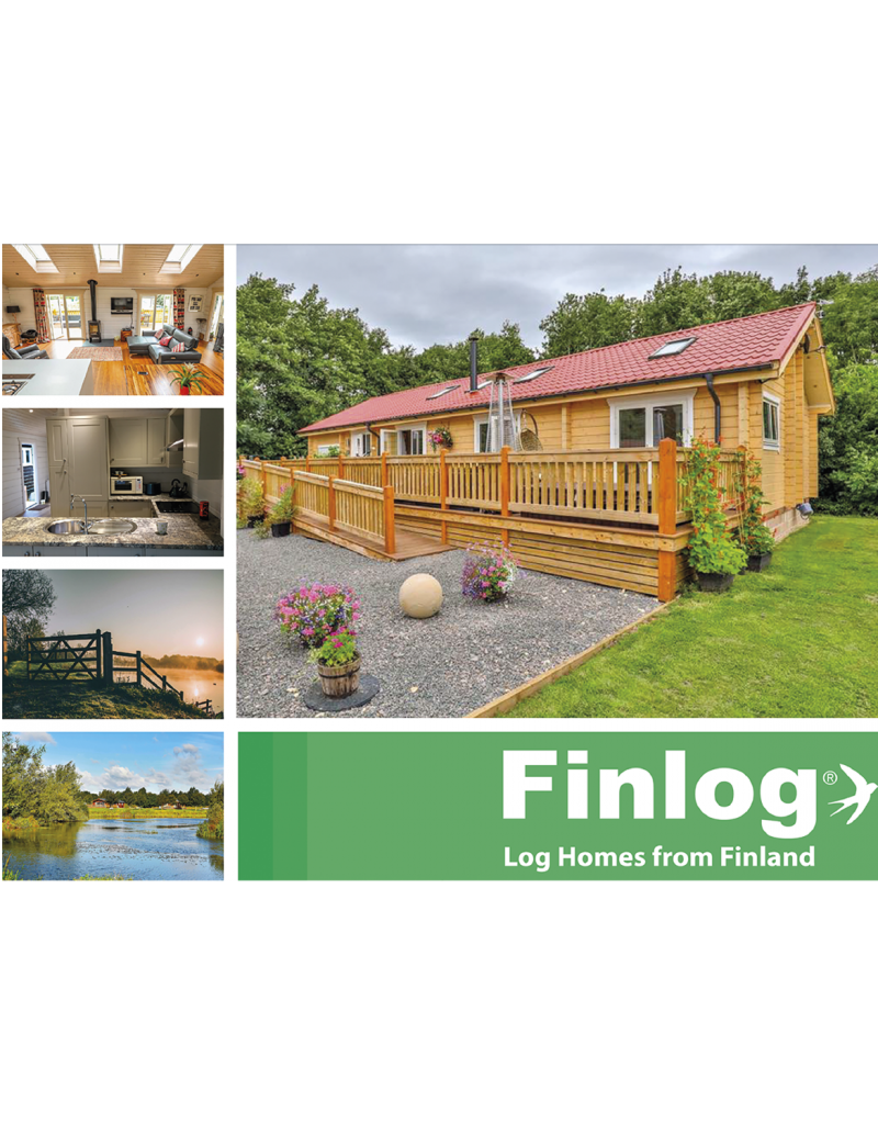 Finlog Brochure Design