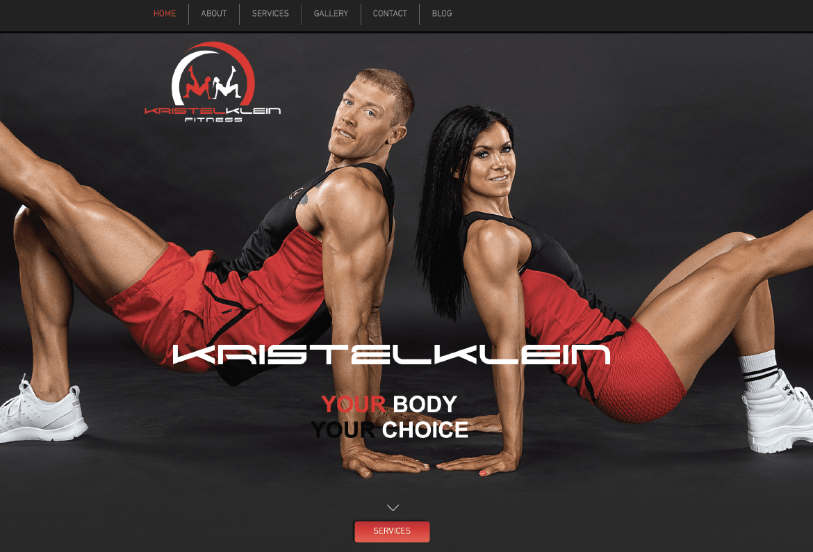 Kristel Klein Website Design