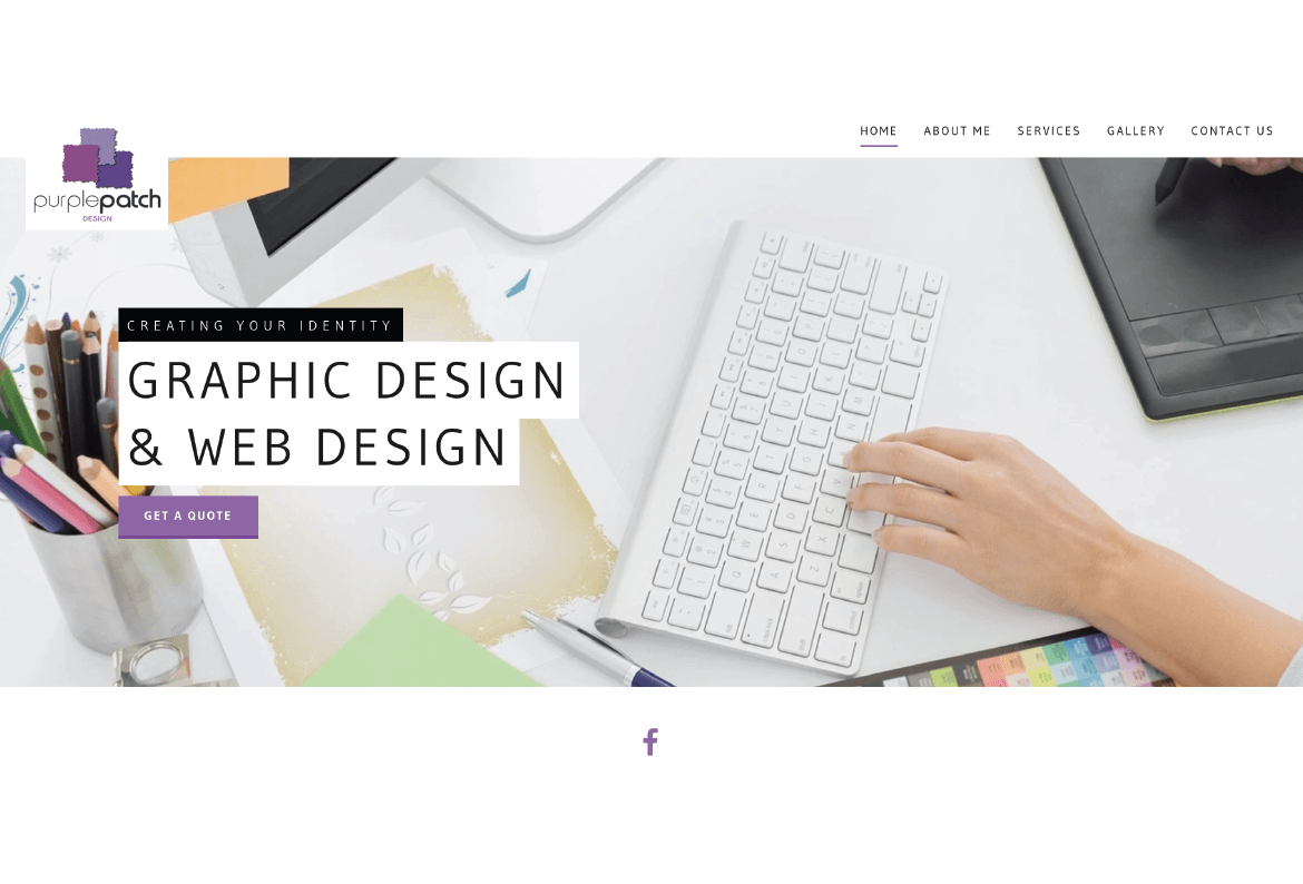 Purple Patch Design Graphic and Website Design